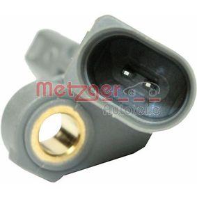 METZGER Sensor, Raddrehzahl 1K0927807A für VW, AUDI, SKODA, SEAT bestellen