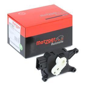 Golf V Хечбек (1K1) METZGER Регулиращ елемент, смесваща клапа 0917201