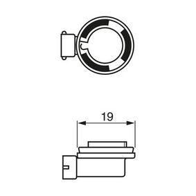 1 987 302 085 Glühlampe, Fernscheinwerfer von BOSCH Qualitäts Ersatzteile