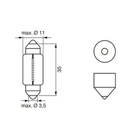 1 987 302 864 Bulb from BOSCH quality parts