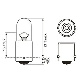 BOSCH Bulb (1 987 302 870) at low price