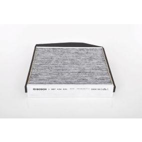 Filter, Innenraumluft BOSCH Art.No - 1 987 432 531 OEM: 30630755 für VOLVO kaufen