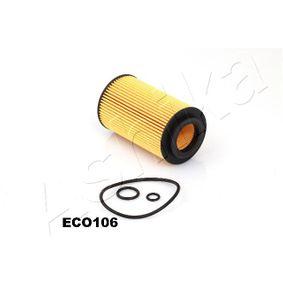 Ölfilter ASHIKA Art.No - 10-ECO106 OEM: 68091827AA für MERCEDES-BENZ, ALFA ROMEO, JEEP, CHRYSLER, DODGE kaufen