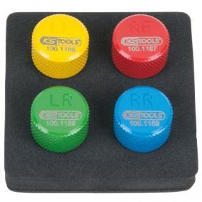 Κάλυμμα, βαλβίδα ελαστικού για αυτοκίνητα της KS TOOLS: παραγγείλτε ηλεκτρονικά