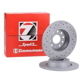 5Q0615601G für VW, AUDI, SKODA, SEAT, Bremsscheibe ZIMMERMANN (100.3315.52) Online-Shop