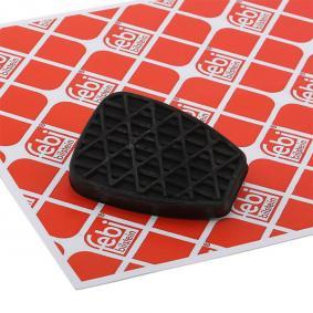 FEBI BILSTEIN Clutch Pedal Pad for right-hand drive vehicles 100244 original quality