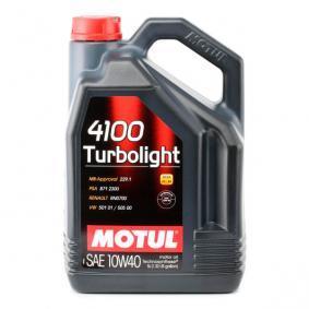 Félszintetikus olaj 100357 a MOTUL eredeti minőségű