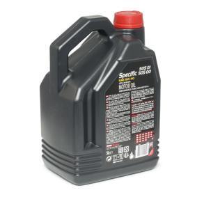 Olio 100% sintetico 101575 dal MOTUL di qualità originale
