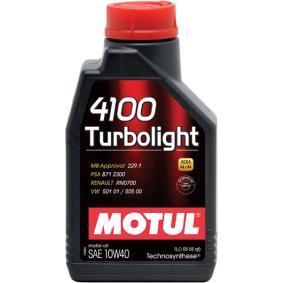 Félszintetikus olaj 102774 a MOTUL eredeti minőségű