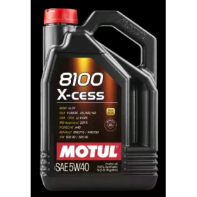 SAE-5W-40 Car oil from MOTUL 102870 original quality