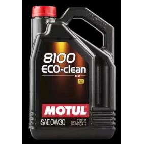 SAE-0W-30 Двигателно масло от MOTUL 102889 оригинално качество