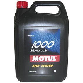 FIAT FIORINO MOTUL Motoröl 103015 Online Geschäft
