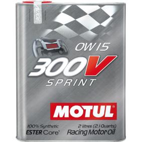 Двигателно масло SAE-0W-15 (104238) от MOTUL купете онлайн