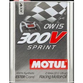 SAE-0W-15 Моторни масла MOTUL 104238 онлайн магазин