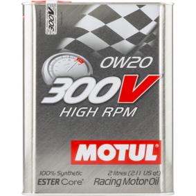 Двигателно масло SAE-0W-20 (104239) от MOTUL купете онлайн