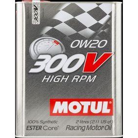 SAE-0W-20 Моторни масла MOTUL 104239 онлайн магазин