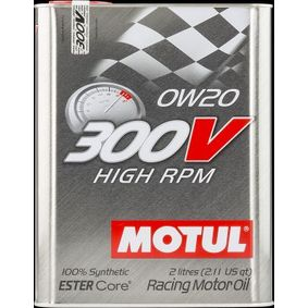 SAE-0W-20 Olio motore MOTUL 104239 negozio online