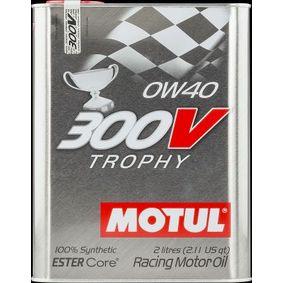 SAE-0W-40 Olio motore MOTUL 104240 negozio online