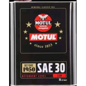 Двигателно масло SAE-SAE 30 (104509) от MOTUL купете онлайн