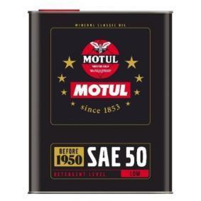 Двигателно масло SAE-SAE 50 (104510) от MOTUL купете онлайн