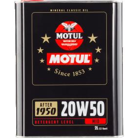 Двигателно масло SAE-20W-50 (104511) от MOTUL купете онлайн