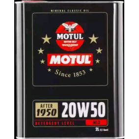 Motorolie 20W-50 (104511) fra MOTUL køb online