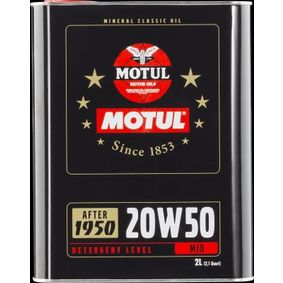 SAE-20W-50 Engine oil MOTUL 104511 online shop