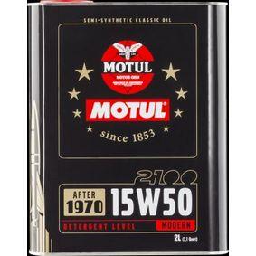 SAE-15W-50 Olio motore MOTUL 104512 negozio online