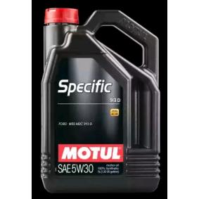 ISUZU D-MAX Motoröl (104560) von MOTUL kaufen zum günstigen Preis