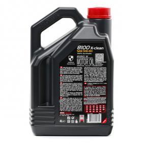 PORSCHE A40 Motoröl MOTUL (104720) niedriger Preis
