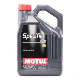 Olio 100% sintetico 104845 dal MOTUL di qualità originale