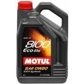 Двигателно масло SAE-0W-20 (104983) от MOTUL купете онлайн