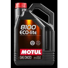 SAE-0W-20 Olio motore MOTUL 104983 negozio online