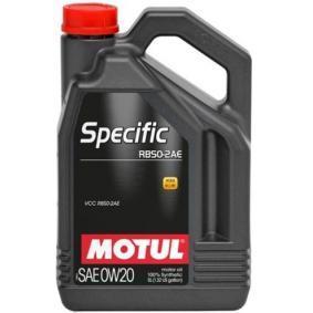 SAE-0W-20 Olio motore MOTUL 106045 negozio online