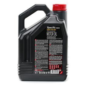 MOTUL Автомобилни масла 5W20 (106352) на ниска цена