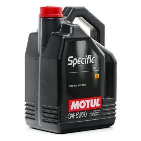 FORD TOURNEO CONNECT MOTUL Aceite de motor para coche 106352 comprar