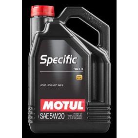 Olio motore per auto FORD WSS-M2C948-B MOTUL 106352 ordine