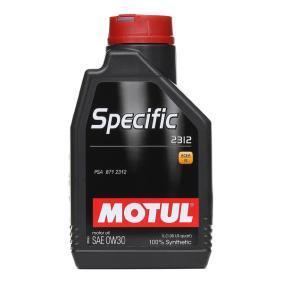 двигателно масло 0W-30 (106413) от MOTUL купете онлайн