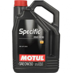 Двигателно масло SAE-0W-30 (106414) от MOTUL купете онлайн