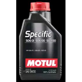 Двигателно масло SAE-0W-30 (106429) от MOTUL купете онлайн