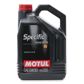 SAE-0W-30 Olio auto dal MOTUL 107050 di qualità originale