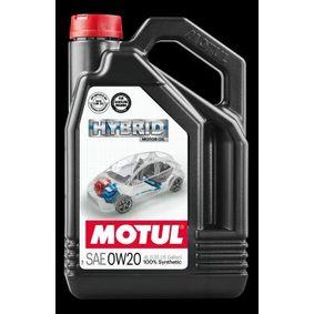 SAE-0W-20 Olio auto dal MOTUL 107142 di qualità originale