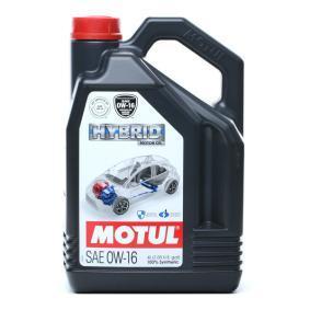 Olio motore SAE-0W-16 (107154) di MOTUL comprare online