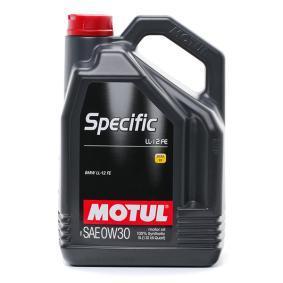 SAE-0W-30 Двигателно масло от MOTUL 107302 оригинално качество