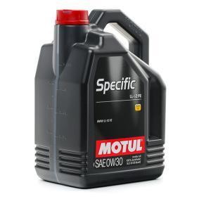 MOTUL Автомобилни масла 0W30 (107302) на ниска цена