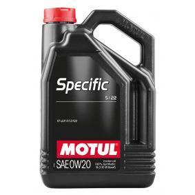 Двигателно масло SAE-0W-20 (107339) от MOTUL купете онлайн