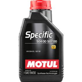 VW 507 00 Motorový olej (107369) od MOTUL kupte si