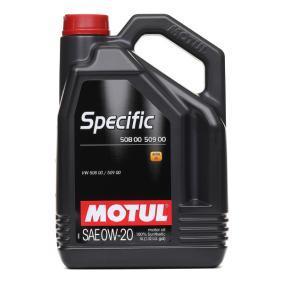 Motorolie 0W-20 (107384) fra MOTUL køb online