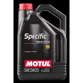 SAE-0W-20 Olio motore MOTUL 107384 negozio online