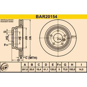 Frontverkleidung BAR20154 Barum
